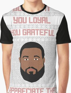 DJ Khaled Christmas Sweater Graphic T-Shirt