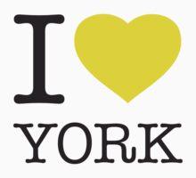 I ♥ YORK Kids Clothes