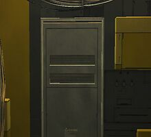 Deus Ex door way  by Zoe Gentz