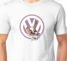 Volkswagen Pin-Up Chatty Cathy (purple) Unisex T-Shirt