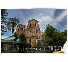Palm Sunday In Cuenca Ecuador Poster