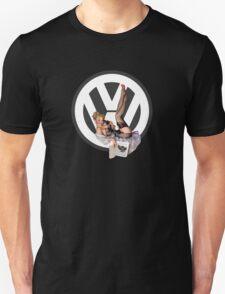 Volkswagen Pin-Up Chatty Cathy (gray) T-Shirt