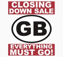 CLOSING DOWN SALE by Robin Brown