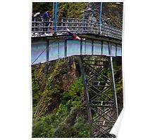 Bungee Jumping in Banos-Ambato Poster