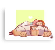 A Lovely Nap Canvas Print