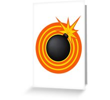 Bomb! Greeting Card
