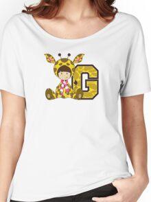 G is for Giraffe Women's Relaxed Fit T-Shirt