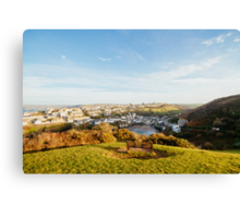 Port Isaac from Lobber Point Canvas Print