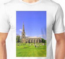 St George's Church, Ticknall Unisex T-Shirt