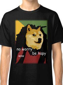 Bob Marley Doge (Transparent Edges) Classic T-Shirt