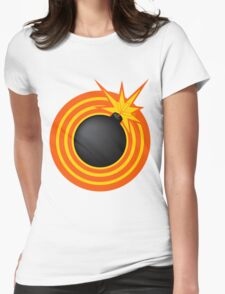 Bomb! Womens Fitted T-Shirt