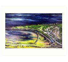 Langland Bay Art Print