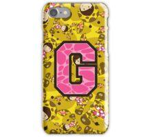 G is for Giraffe iPhone Case/Skin