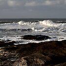 Rocks and Waves, Trevone Bay, Cornwall by Samantha Higgs