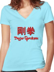 Dojo Gouken Women's Fitted V-Neck T-Shirt
