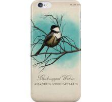 Black-capped Widow iPhone Case/Skin