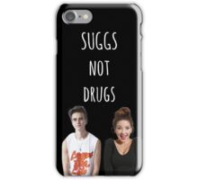 Suggs Not Drugs - Black iPhone Case/Skin
