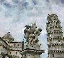 Piazza dei Miracoli, Pisa, Tuscany, Italy by buttonpresser