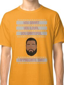 DJ Khaled Christmas Sweater Classic T-Shirt