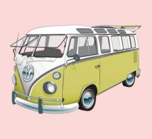 21 Window Volkswagen Bus Kids Tee