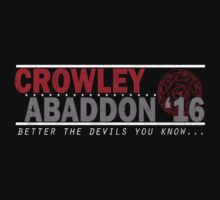 Crowley & Abaddon '16 by Konoko479
