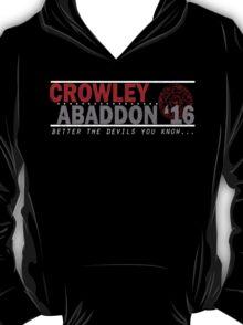 Crowley & Abaddon '16 T-Shirt