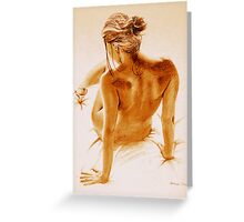 Nude 2  Greeting Card
