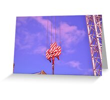 Candy Crane 2 Greeting Card