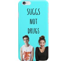 Suggs Not Drugs - Blue iPhone Case/Skin