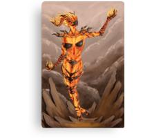 Fire Atronach - Skyrim Canvas Print