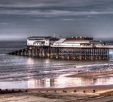 Cromer Pier and reflection by Avril Harris
