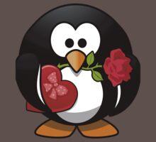 Lovely Penguin One Piece - Short Sleeve