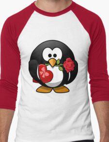 Lovely Penguin Men's Baseball ¾ T-Shirt
