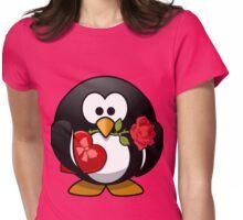 Lovely Penguin Womens Fitted T-Shirt