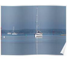 Newtown Creek, Isle of Wight Poster