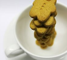 don't you love them dunked in coffee? by Gregoria  Gregoriou Crowe