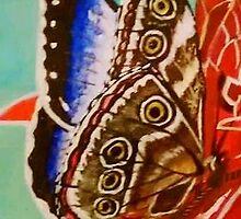 The Emperor Morpho Butterfly by SoaringSpirit