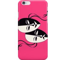 Comedy/Tragedy Masks iPhone Case/Skin