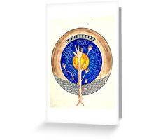 Earthy home Greeting Card