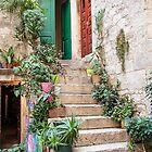 Staircase Garden in Trogir, Croatia by Robert Kelch, M.D.