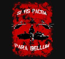 Si vis pacem para bellum USA red w. white font Hoodie