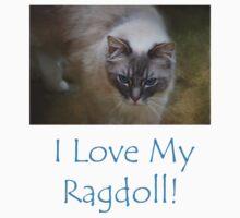 I Love My Ragdoll! One Piece - Short Sleeve