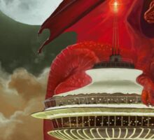 The Dragon of the Space Needle Sticker