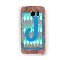 The letter J Samsung Galaxy Case/Skin