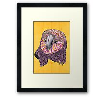 Lovely Owl (Feat. Bryan Gallardo) Framed Print