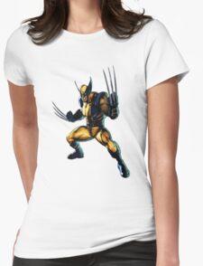 Wolverine-James Howlett- Logan Womens Fitted T-Shirt