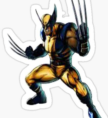 Wolverine-James Howlett- Logan Sticker