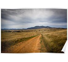 High Country Lane Poster
