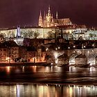 Prague by night by FLYINGSCOTSMAN