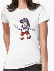 Legolized Sailor Mars Womens Fitted T-Shirt